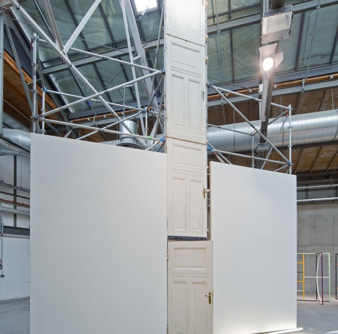 A door repeated and the wardrobe fell, 2012, Galerie Thomas Schulte, abc art berlin contemporary 2013