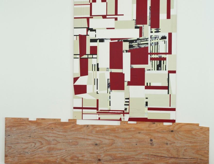 White as in life (1996), set on wood, 2013, Alejandra von Hartz Gallery, Miami